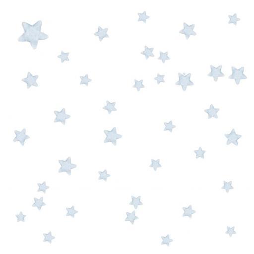 VINILO INFANTIL: Estrellas grises [2]