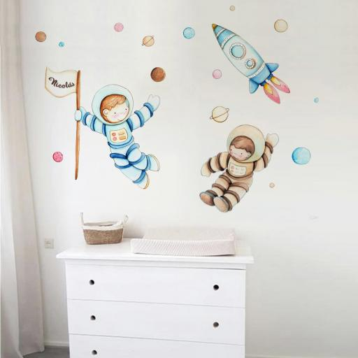 VINILO INFANTIL: Astronautas [0]