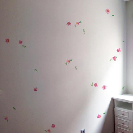 VINILO INFANTIL: Flores pequeñas [0]