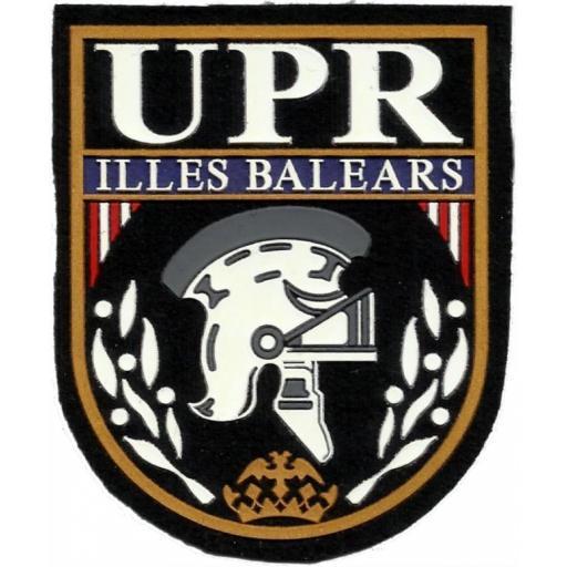 PARCHE DE LA POLICÍA NACIONAL CNP UPR ISLAS BALEARES ILLES BALEARS