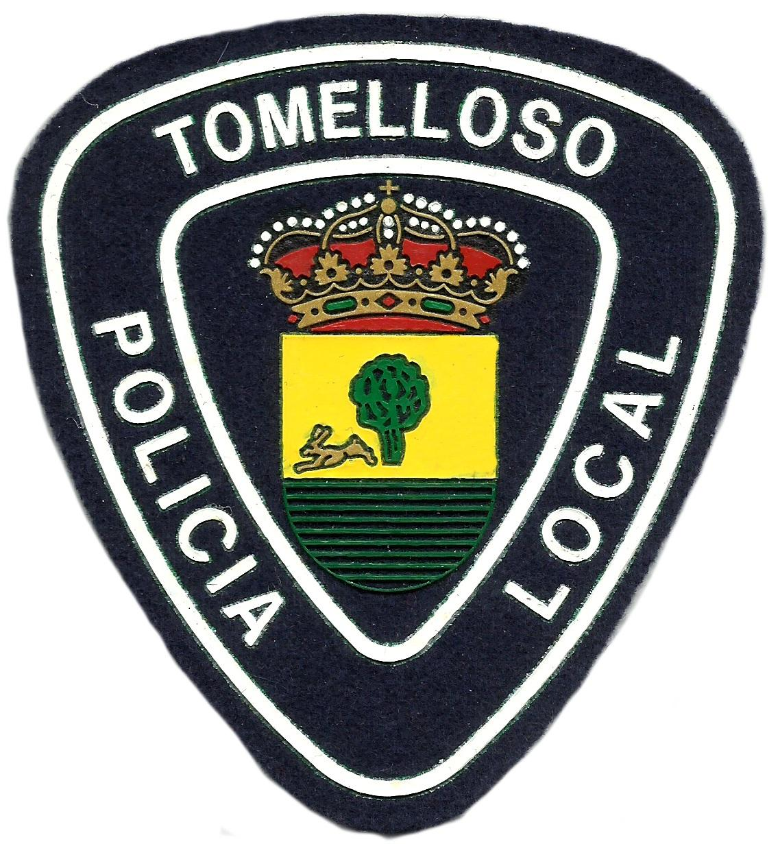 POLICÍA LOCAL TOMELLOSO PARCHE INSIGNIA EMBLEMA