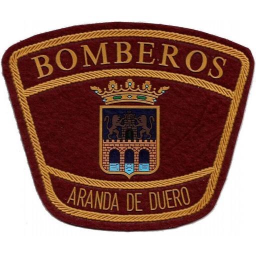 PARCHE INSIGNIA EMBLEMA DEL CUERPO DE BOMBEROS DE ARANDA DE DUERO