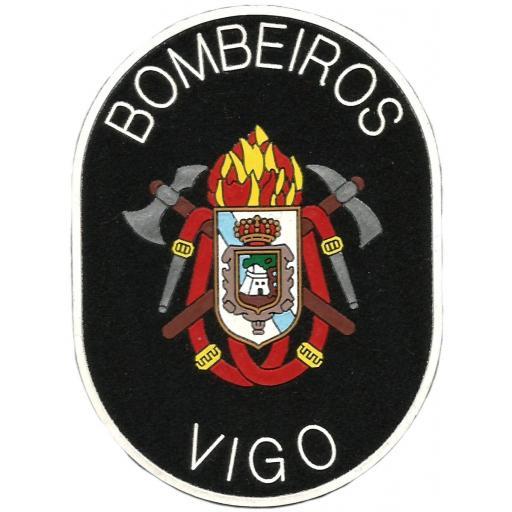 PARCHE INSIGNIA EMBLEMA DEL CUERPO DE BOMBEROS DE VIGO