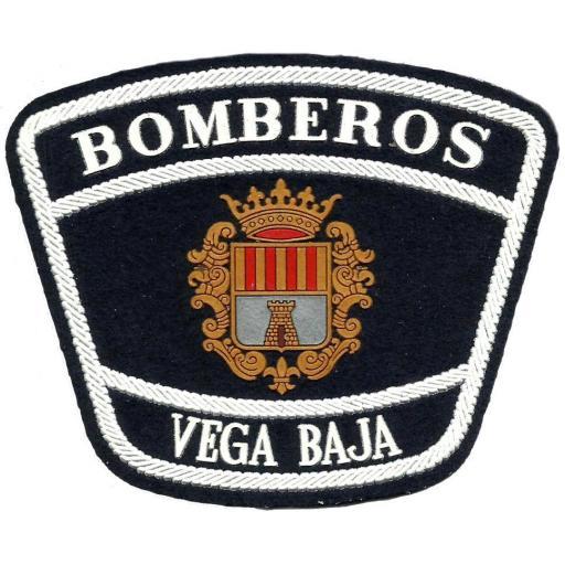 PARCHE INSIGNIA EMBLEMA DEL PARQUE DE BOMBEROS DE LA COMARCA DE LA VEGA BAJA