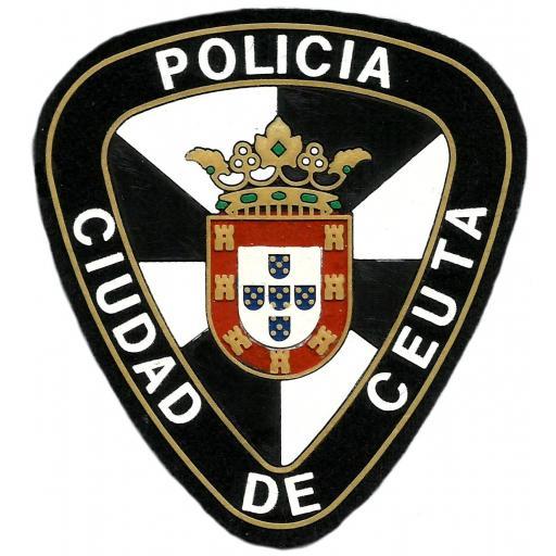 POLICÍA LOCAL CIUDAD DE CEUTA PARCHE INSIGNIA EMBLEMA