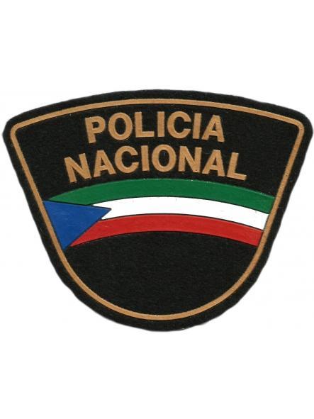 POLICÍA NACIONAL DE GUINEA ECUATORIAL PARCHE INSIGNIA EMBLEMA DISTINTIVO