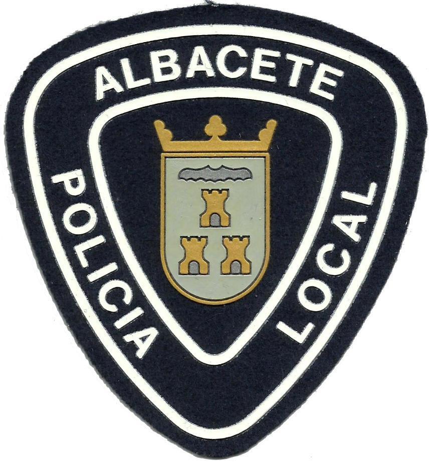 POLICÍA LOCAL ALBACETE PARCHE INSIGNIA EMBLEMA
