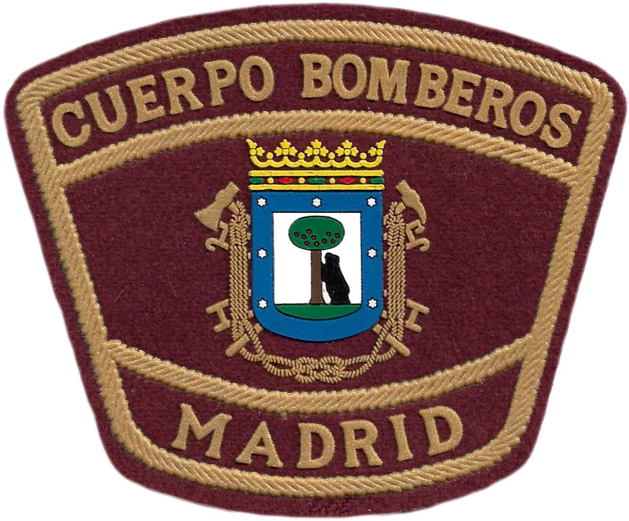 Bomberos de Madrid parche insignia emblema distintivo