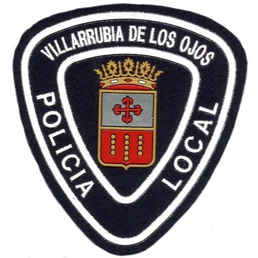 POLICÍA LOCAL VILLARRUBIA DE LOS OJOS PARCHE INSIGNIA EMBLEMA