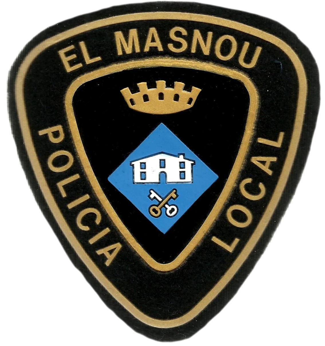 POLICÍA LOCAL EL MASNOU PARCHE INSIGNIA EMBLEMA