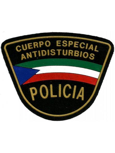 POLICÍA NACIONAL DE GUINEA ECUATORIAL CUERPO ESPECIAL ANTIDISTURBIOS PARCHE INSIGNIA EMBLEMA DISTINTIVO
