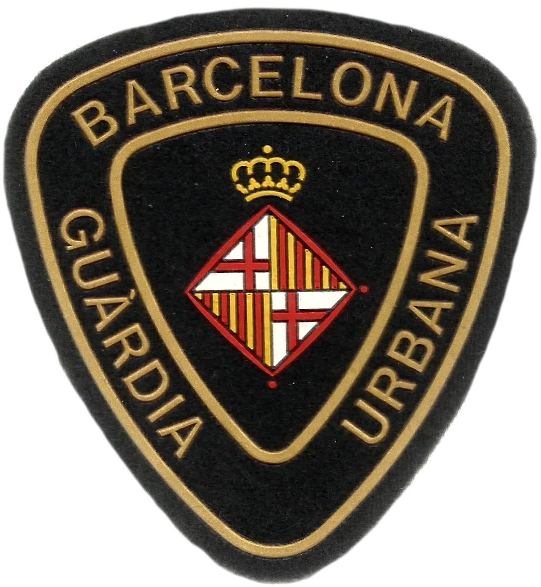 Policía Guardia Urbana de Barcelona parche insignia emblema distintivo