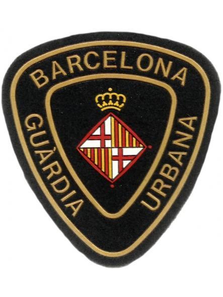 Policía Guardia Urbana de Barcelona parche insignia emblema distintivo [0]