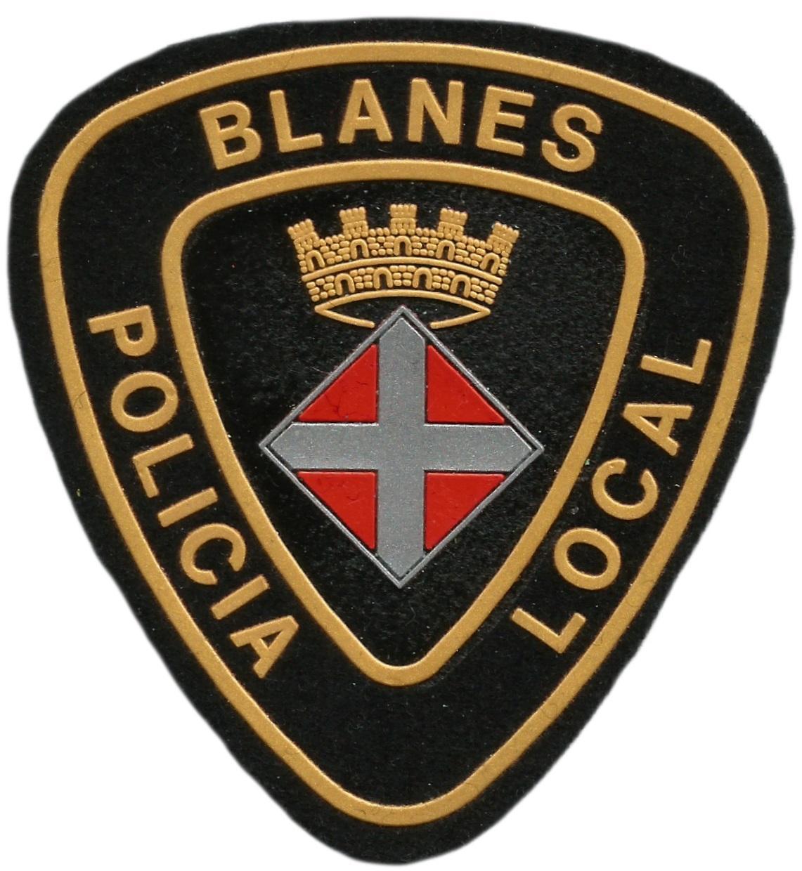 POLICÍA LOCAL BLANES PARCHE INSIGNIA EMBLEMA