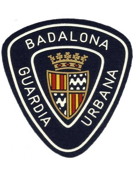 Guardia Urbana Badalona parche insignia emblema distintivo