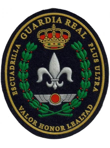 Guardia Real Escuadrilla Plus Ultra Valor Honor lealtad parche insignia emblema distintivo