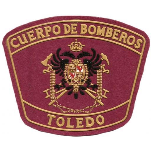 PARCHE CUERPO DE BOMBEROS TOLEDO