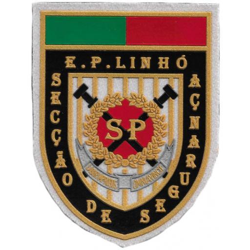POLICÍA DEL SERVICIO DE PRISIONES DE PORTUGAL EMBLEMA INSIGNIA PARCHE