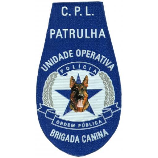 PARCHE POLICÍA DE ORDEN PÚBLICO DE ANGOLA BRIGADA CANINA