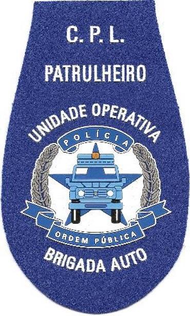 PARCHE POLICÍA DE ORDEN PÚBLICO DE ANGOLA PATRULLERO BRIGADA AUTO