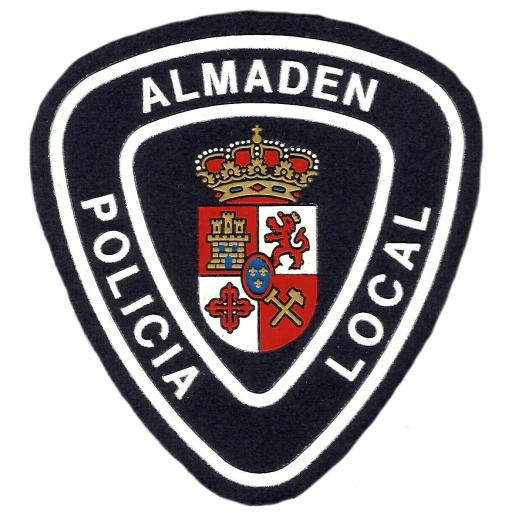 POLICÍA LOCAL ALMADÉN PARCHE INSIGNIA EMBLEMA