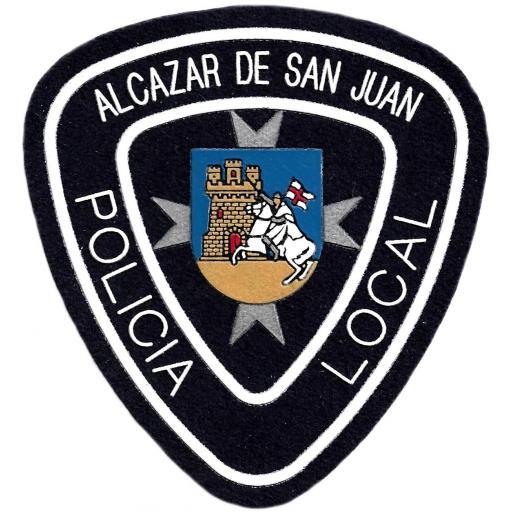 POLICÍA LOCAL ALCAZAR DE SAN JUAN PARCHE INSIGNIA EMBLEMA