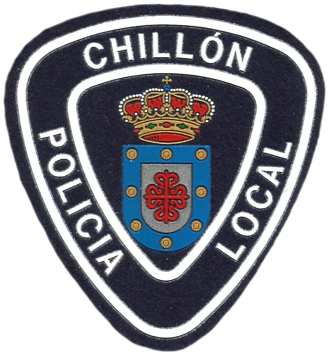 POLICÍA LOCAL CHILLÓN PARCHE INSIGNIA EMBLEMA