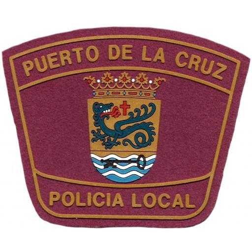 PARCHE POLICÍA LOCAL PUERTO DE LA CRUZ