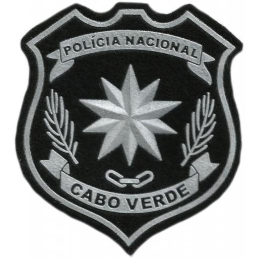 POLICÍA NACIONAL DE CABO VERDE PARCHE INSIGNIA EMBLEMA DISTINTIVO