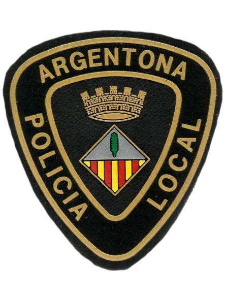 Policía local Argentona parche insignia emblema distintivo