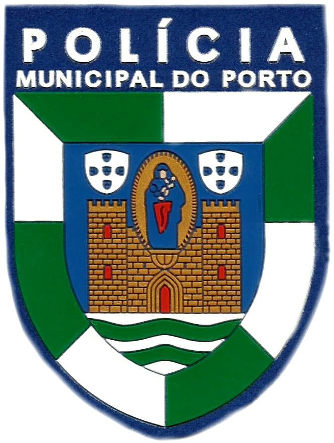 PARCHE POLICÍA MUNICIPAL DE LA CIUDAD DE PORTO