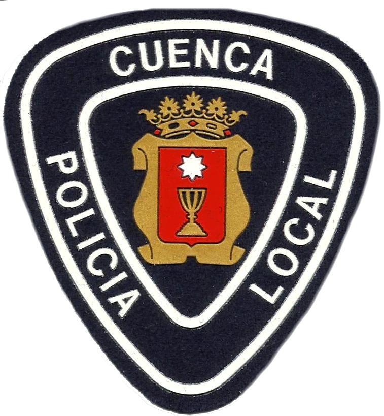 POLICÍA LOCAL CIUDAD DE CUENCA PARCHE INSIGNIA EMBLEMA