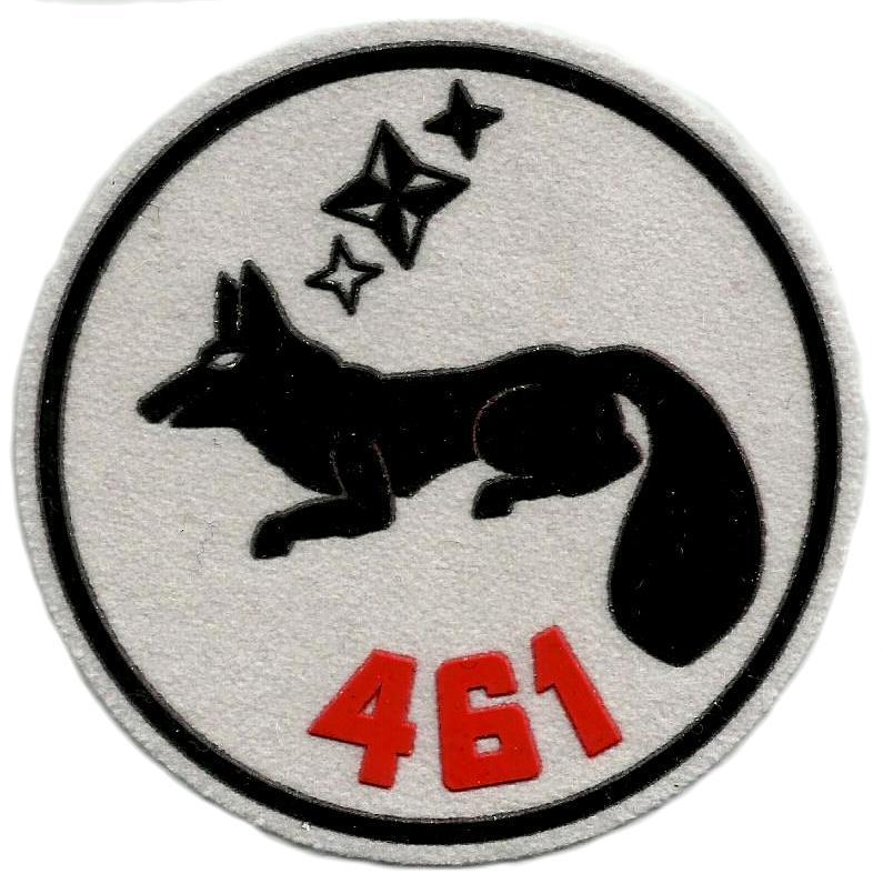 PARCHE EJERCITO DEL AIRE ESCUADRÓN 461