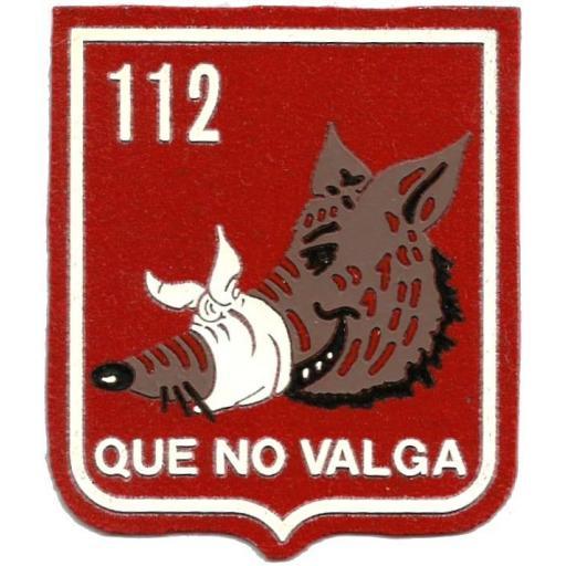 PARCHE EJERCITO DEL AIRE ESCUADRÓN 112