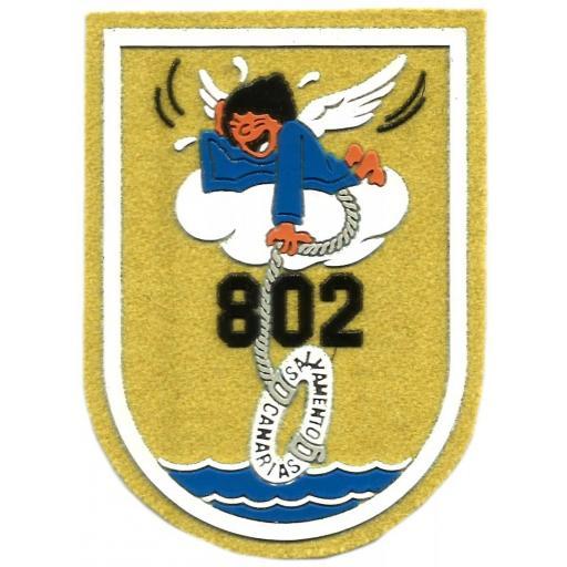 PARCHE EJERCITO DEL AIRE ESCUADRÓN 802