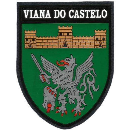 PARCHE POLICÍA DE SEGURANÇA PUBLICA DE PORTUGAL VIANA DO CASTELO