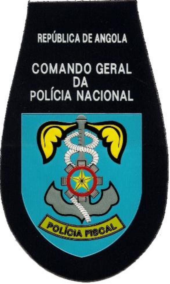 PARCHE POLICÍA DE ORDEN PÚBLICO DE ANGOLA - POLICÍA FISCAL