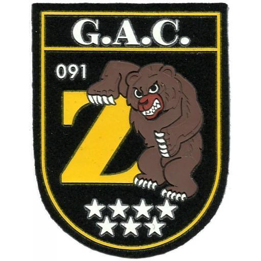 Policía nacional CNP GAC grupo de atención al ciudadano 091 zetas Madrid parche insignia emblema distintivo