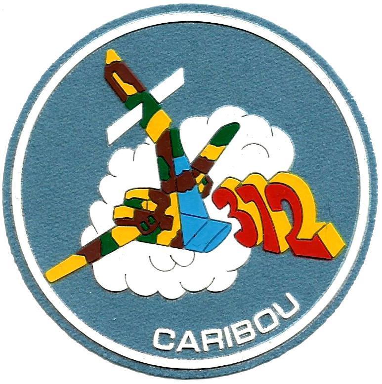 PARCHE EJERCITO DEL AIRE ESCUADRÓN 372 CARIBOU