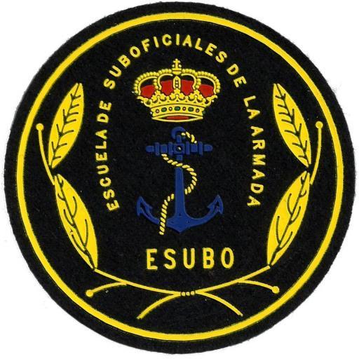 PARCHE EJERCITO ARMADA ESPAÑOLA ESCUELA DE SUBOFICIALES DE LA ARMADA ESUBO