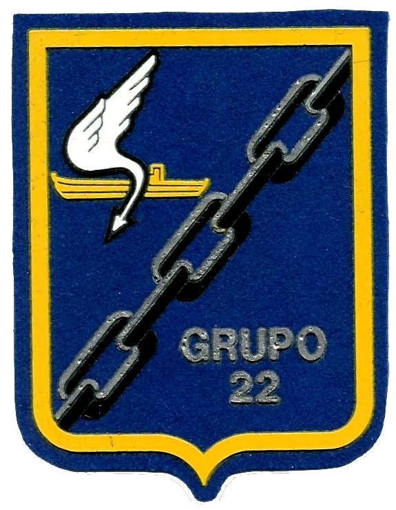 PARCHE EJERCITO DEL AIRE GRUPO 22