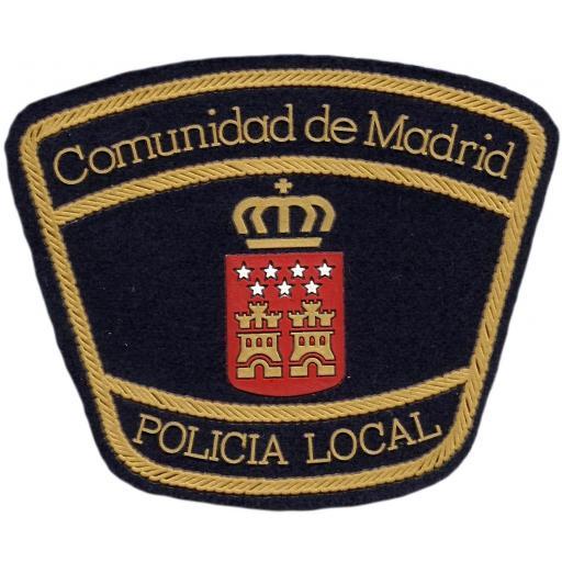 PARCHE POLICÍA LOCAL COMUNIDAD DE MADRID