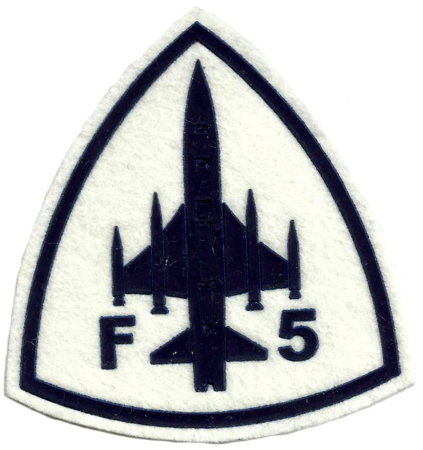EJERCITO DEL AIRE CAZA F-5 PARCHE INSIGNIA EMBLEMA DISTINTIVO