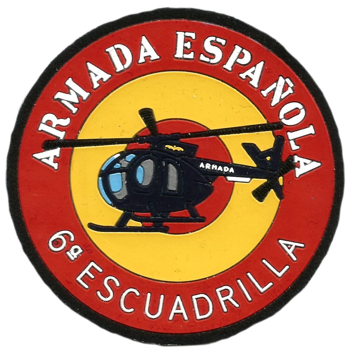 Ejército Armada española 6 Escuadrilla parche insignia emblema distintivo