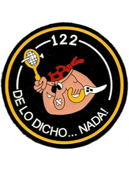 Ejército del aire escuadrón 122 de lo dicho nada parche insignia emblema distintivo