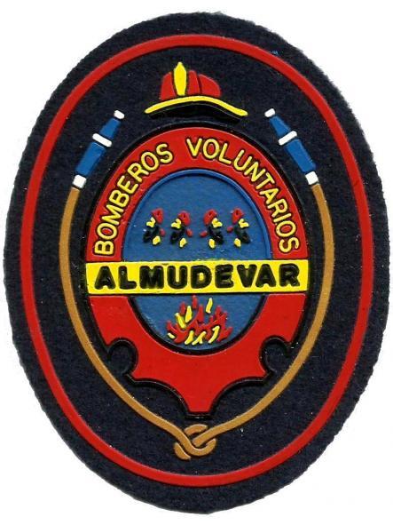 Bomberos de Almudevar parche insignia emblema distintivo