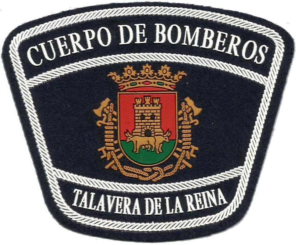 Bomberos de Talavera de la Reina parche insignia emblema distintivo