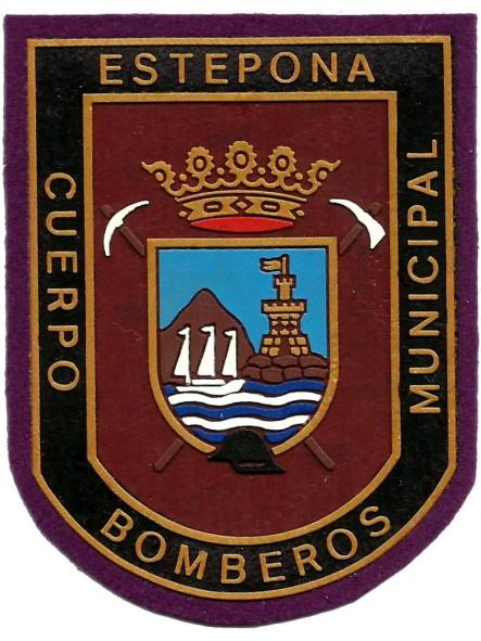 Bomberos de Estepona parche insignia emblema distintivo
