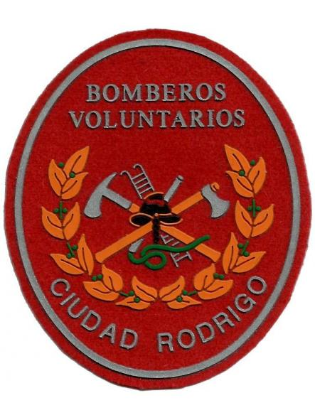 Bomberos de Ciudad Rodrigo parche insignia emblema distintivo
