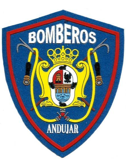 Bomberos de Andújar parche insignia emblema distintivo